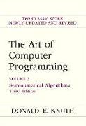 Cover-Bild zu Art of Computer Programming, Volume 2 von Knuth, Donald E.