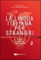 Cover-Bild zu La lingua italiana per stranieri II. Lehrbuch von Katerinov, Katerin