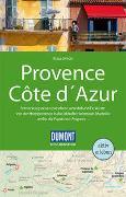 Cover-Bild zu Simon, Klaus: DuMont Reise-Handbuch Reiseführer Provence, Côte d'Azur. 1:300'000