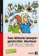 Cover-Bild zu Ganz einfache Lesespurgeschichten: Abenteuer von Rosendahl, Julia