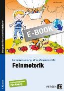 Cover-Bild zu Feinmotorik (eBook) von Rosendahl, Julia