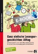 Cover-Bild zu Ganz einfache Lesespurgeschichten: Alltag (eBook) von Rosendahl, Julia