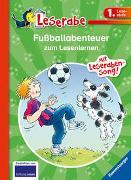Cover-Bild zu Dietl, Erhard: Fußballabenteuer zum Lesenlernen - Leserabe 1. Klasse - Erstlesebuch für Kinder ab 6 Jahren