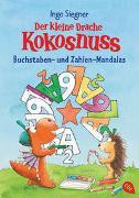 Cover-Bild zu Der kleine Drache Kokosnuss - Buchstaben- und Zahlen-Mandalas von Siegner, Ingo