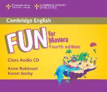 Cover-Bild zu Fun for Movers Class Audio CD von Robinson, Anne