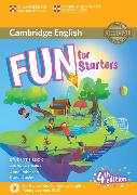 Cover-Bild zu Fun for Starters Student's Book with Online Activities with Audio and Home Fun Booklet 2 von Robinson, Anne