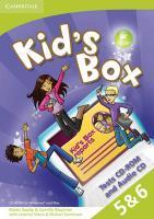 Cover-Bild zu Kid's Box American English Levels 5-6 von Saxby, Karen