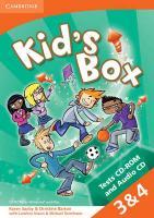 Cover-Bild zu Kid's Box American English Levels 3-4 von Saxby, Karen