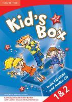 Cover-Bild zu Kid's Box American English Levels 1-2 von Saxby, Karen