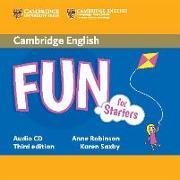 Cover-Bild zu Fun for Starters Audio CD von Robinson, Anne