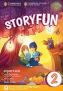 Cover-Bild zu Storyfun for Starters Level 2 Student's Book with Online Activities and Home Fun Booklet 2 von Saxby, Karen