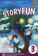 Cover-Bild zu Storyfun for Movers Level 3 Student's Book with Online Activities and Home Fun Booklet 3 von Saxby, Karen