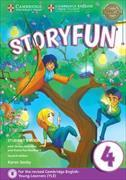 Cover-Bild zu Storyfun for Movers Level 4 Student's Book with Online Activities and Home Fun Booklet 4 von Saxby, Karen