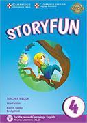 Cover-Bild zu Storyfun 4 Teacher's Book with Audio von Saxby, Karen