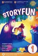 Cover-Bild zu Storyfun for Starters Level 1 Student's Book with Online Activities and Home Fun Booklet 1 von Saxby, Karen