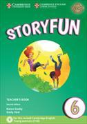 Cover-Bild zu Storyfun 6 Teacher's Book with Audio von Saxby, Karen