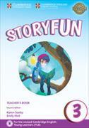 Cover-Bild zu Storyfun 3 Teacher's Book with Audio von Saxby, Karen