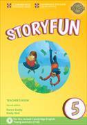 Cover-Bild zu Storyfun 5 Teacher's Book with Audio von Saxby, Karen
