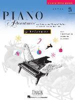 Cover-Bild zu Level 2a - Christmas Book: Piano Adventures von Faber, Nancy (Komponist)