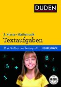 Cover-Bild zu Übungsblock: Mathematik - Textaufgaben 3. Klasse von Müller-Wolfangel, Ute