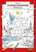 Cover-Bild zu Mein Elbphilharmonie-Malbuch von Ahlgrimm, Achim (Illustr.)