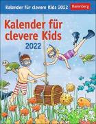 Cover-Bild zu Kalender für clevere Kids Kalender 2022 von Huhnold, Thomas