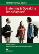 Cover-Bild zu Mann, Malcolm (Reihe Hrsg.): Improve your Skills: Listening & Speaking for Advanced Student's Book without key Pack