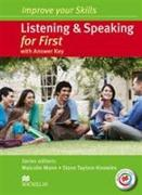 Cover-Bild zu Mann, Malcolm (Reihe Hrsg.): Improve your Skills: Listening & Speaking for First Student's Book with key & MPO Pack
