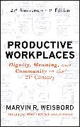 Cover-Bild zu Productive Workplaces (eBook) von Weisbord, Marvin R.