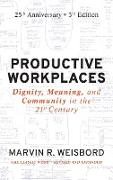 Cover-Bild zu Productive Workplaces von Weisbord, Marvin R.