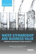 Cover-Bild zu Water Stewardship and Business Value (eBook) von Sarni, William