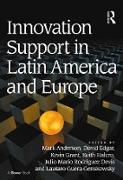 Cover-Bild zu Innovation Support in Latin America and Europe (eBook) von Anderson, Mark