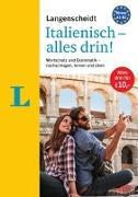 Cover-Bild zu Langenscheidt Italienisch - alles drin! - Basiswissen Italienisch in einem Band von Langenscheidt, Redaktion (Hrsg.)