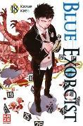 Cover-Bild zu Blue Exorcist 18 von Kato, Kazue