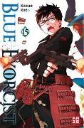 Cover-Bild zu Blue Exorcist 15 von Kato, Kazue