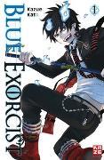 Cover-Bild zu Blue Exorcist 01 von Kato, Kazue