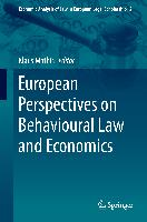 Cover-Bild zu Mathis, Klaus (Hrsg.): European Perspectives on Behavioural Law and Economics