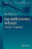 Cover-Bild zu Mathis, Klaus (Hrsg.): Law and Economics in Europe