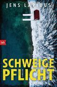 Cover-Bild zu Lapidus, Jens: SCHWEIGEPFLICHT