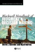 Cover-Bild zu Blackwell Handbook of Judgment and Decision Making von Koehler, Derek J. (Hrsg.)