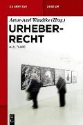 Cover-Bild zu Urheberrecht (eBook) von Wandtke, Artur-Axel (Hrsg.)