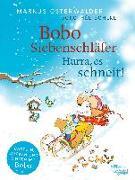 Cover-Bild zu Bobo Siebenschläfer: Hurra, es schneit! von Osterwalder, Markus
