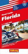 Cover-Bild zu Florida Strassenkarte 1:1 Mio., Road Guide Nr. 11. 1:1'000'000 von Hallwag Kümmerly+Frey AG (Hrsg.)