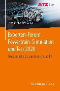 Cover-Bild zu Experten-Forum Powertrain: Simulation und Test 2020 (eBook) von Liebl, Johannes (Hrsg.)