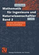 Cover-Bild zu Mathematik für Ingenieure und Naturwissenschaftler Band 2 (eBook) von Papula, Lothar