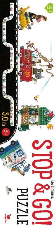 Cover-Bild zu Stop & Go! Puzzle von Timmers, Leo (Illustr.)