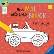 Cover-Bild zu Lindemann, Christian (Illustr.): Mein allererster Malblock - Fahrzeuge