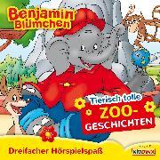 Cover-Bild zu Benjamin Blümchen - Tierisch tolle Zoogeschichten Folgen: 105 + 37 + 96 (Audio Download) von Donnelly, Elfie