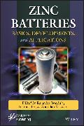 Cover-Bild zu Asiri, Abdullah M. (Hrsg.): Zinc Batteries (eBook)