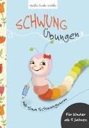 Cover-Bild zu Schwungübungen mit Sina Schwungwurm von Bohne, Susanne